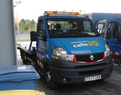 Recogida vehiculos grua madrid