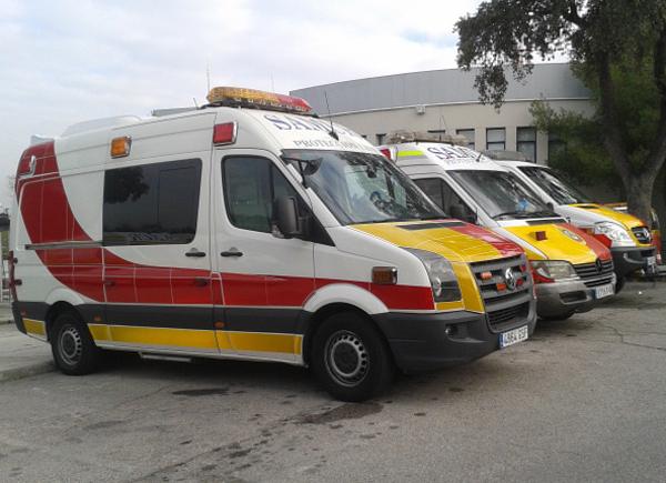 Especificaciones técnicas de las nuevas ambulancias de Samur-PC (1/3)