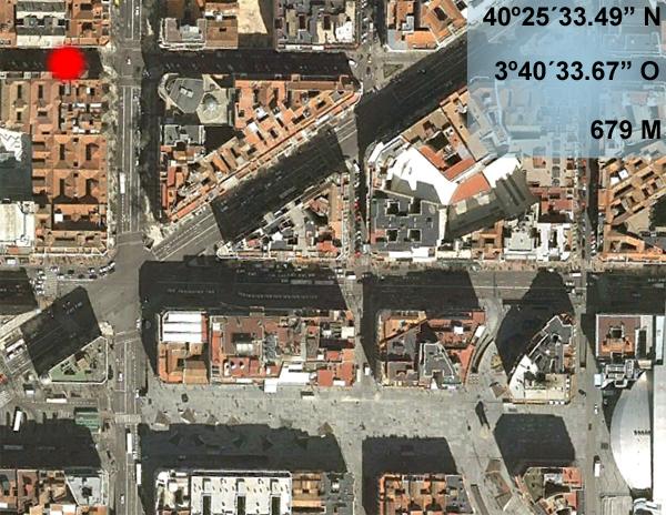 Cuatro heridos en un aparatoso atropello en la calle Hermosilla (2/2)