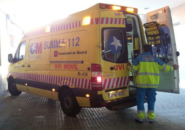 Fallece atropellada una motorista de 45 años en la avenida Monforte de Lemos (1/2)