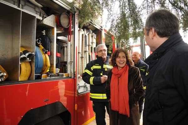 90 millones de euros para renovar el equipamiento en los parques de bomberos (4/6)