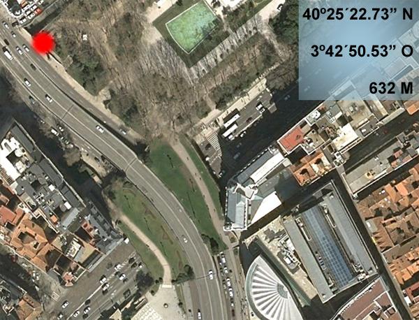 Incendio en una galería subterránea en Plaza de España (3/3)